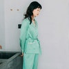 19 Momme Sexy Stylish Silk Pajamas Set Color