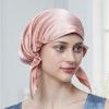 30 Momme Korean Style Silk Sleep Cap Night Hat Hair Wrap Color