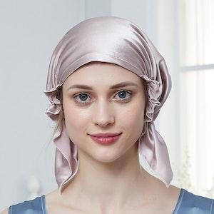 19 Momme Korean Style Silk Sleep Cap Night Head Wrap