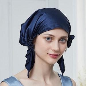 30 Momme Korean Style Silk Sleep Cap Night Hat Hair Wrap