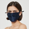 100% Silk Double Lined Face Mask Color