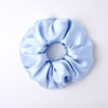 Luxurious Silk Flower Hair Scrunchie Large Size 22 Momme Color