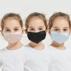 3 Pack Kids Mulberry Silk Face Mask Color
