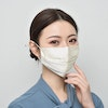 100% Silk Face Mask Double Lined With Nose Wire Color