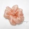 Organza Flower Silk Scrunchie THE GALAXY Color