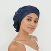 30 Momme Silk Hair Wrap Bonnet With Ribbon Color