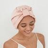 Luxury 30 Momme Pleated Silk Bonnet Turban Style Color