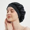 Traceless Elastic Band Silk Bonnet Silk Night Hair Wrap Color