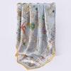 Tropical Garden Silk Scarf 106 Color