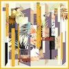 Fantasy Silk Scarf 106 Color