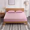 3PCS 25 Momme Silk Fitted Sheet Pillowcases Set Color