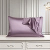 19 Momme Terse Envelope Silk Pillowcase One Side Silk Queen Size Color