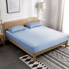 3PCS 19 Momme Silk Fitted Sheet Pillowcases Set Color