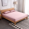 3PCS 22Momme Silk Fitted Sheet Pillowcases Set Color