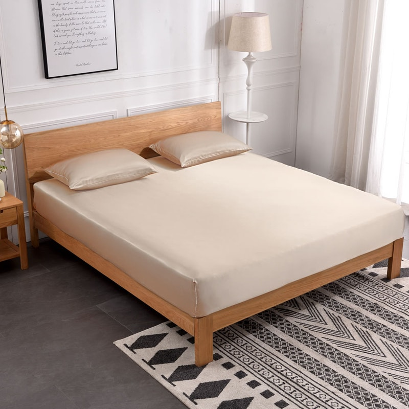 19 Momme Seamless Silk Fitted Sheet