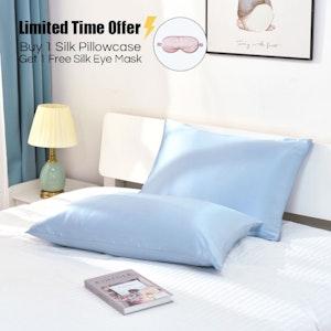19 Momme Terse Silk Pillowcase With Hidden Zipper