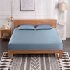 3PCS 30 Momme Silk Fitted Sheets Pillowcase Set Color