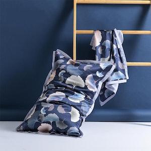 Chic Printed Oxford Envelope Silk Pillowcase