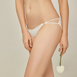 2 Pack Womens Sexy Hipster Silk G-String