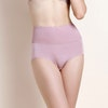 Pretty High Waist Silk Panty With Lace Color