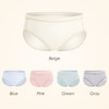 5Pack Multi Color Women Silk Knitted Panties Color
