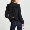 Silk Shirt With Back Buttons Color