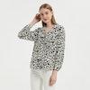 Classic Leopard Silk Shirt Color