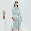 16 Momme Full Length Silk Robe Color