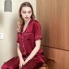 19 Momme Classic Short Silk Pajamas Set For Women Color