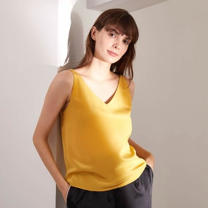 Pure Mulberry Silk Cami Top Gentle